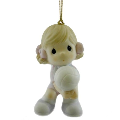 Precious Moments SERVING UP FUN 4024110 Christmas Ornament Sport New