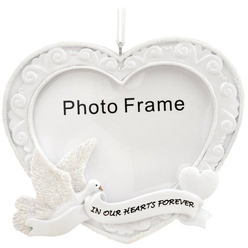 In Our Hearts Forever Frame Ornament