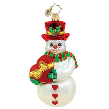Christopher Radko – Heart for a Cure – Heirloom Collectable Christmas Ornament