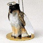 Sheltie Tricolor Pet Angel Ornament