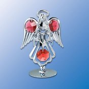 Angel Heart on Stand Suncatcher