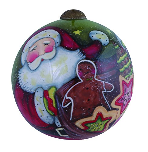 Ne'Qwa Santa's Christmas Cookies Ornament