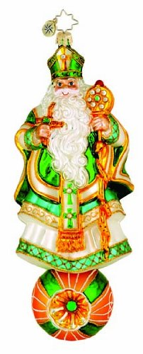 Christopher Radko Ornament Saint Pat