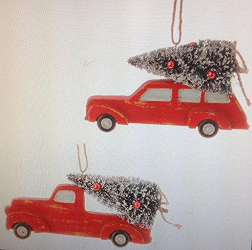 6.5″ AUTOMOBILE and 6″ TRUCK ORNAMENT