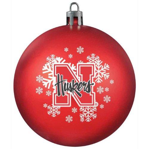 NCAA Nebraska Cornhuskers Shatterproof Ball Ornament
