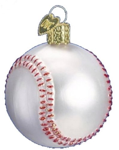 Old World Christmas Minature Sports Ornament (Baseball)