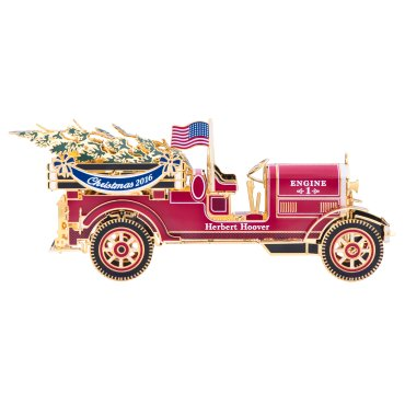 2016 Official White House Christmas Ornament – Herbert Hoover