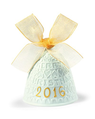 Lladro 2016 Annual Re- Deco Christmas Bell # 18410