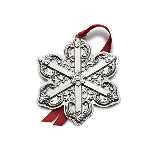 Wallace 2016 Grand Baroque Snowflake Ornament, 19th Edition