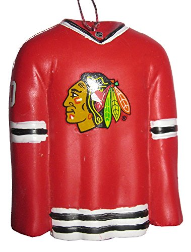 Chicago Blackhawks NHL Resin Jersey Holiday Christmas Ornament