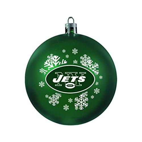 NFL New York Jets Shatterproof Ball Ornament