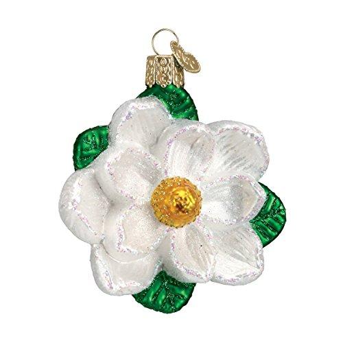 Old World Christmas Magnolia Glass Blown Ornament