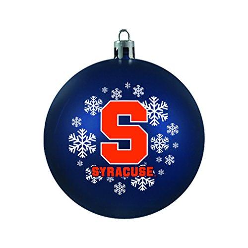 NCAA Syracuse Orange Shatterproof Ball Ornament, 3.125″, Orange