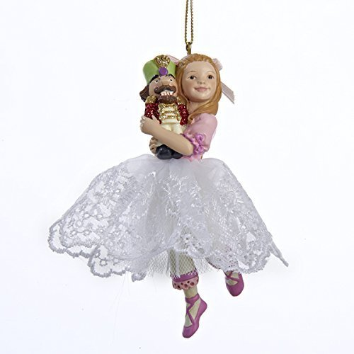 Kurt Adler Clara Girl Christmas Ornament by Kurt Adler