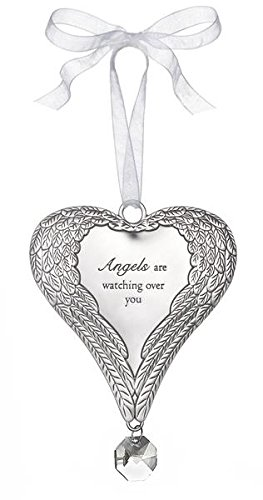 """Angel Wings Ornaments- """"Angels Are Watching Over You"""""""