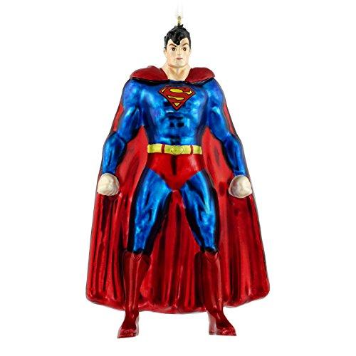 Hallmark Premium Superman Christmas Ornament