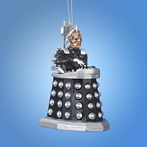 DOCTOR WHO DAVROS Figural ORNAMENT new with tag BBC TV Classic Sci Fi