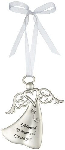 Ganz I Followed My Heart and I Found You – Ornament Christmas Angel Gift ER26815-GANZ