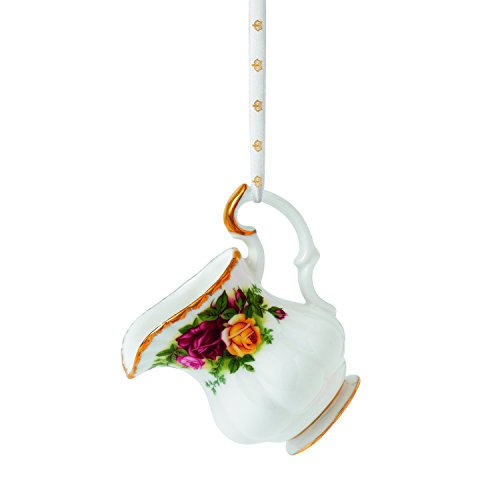 Royal Doulton Old Country Roses Mini Cream Jug Ornament, 2.4-Inch