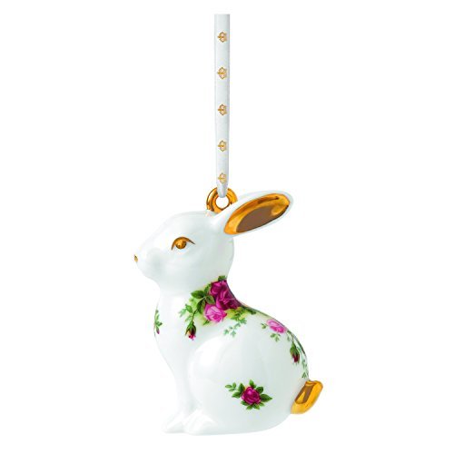 Royal Doulton Old Country Roses Rabbit Ornament, 3-Inch