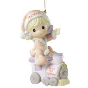 "Precious Moments ""Baby's First Christmas"" Ornament #610005"