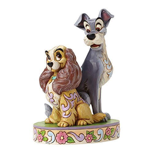 Enesco Disney Traditions Lady & the Tramp 60th Anniversary