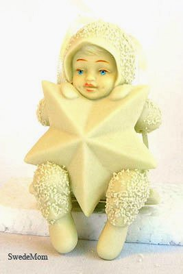 "Snowbabies 'SWINGING ON A STAR"" Ornament"
