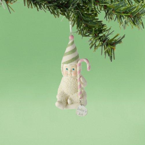 Department 56 Snowbabies by Kristi Jensen Pierro Baby 's 1st Ornament, 2012 3-1/2-Inch