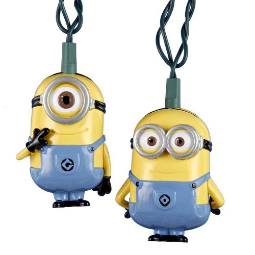Despicable Me 2 Kurt Adler UL 10-Light Minions Set