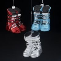 Kurt Adler 4.25″ Noble Gems Ski Boots Ornament