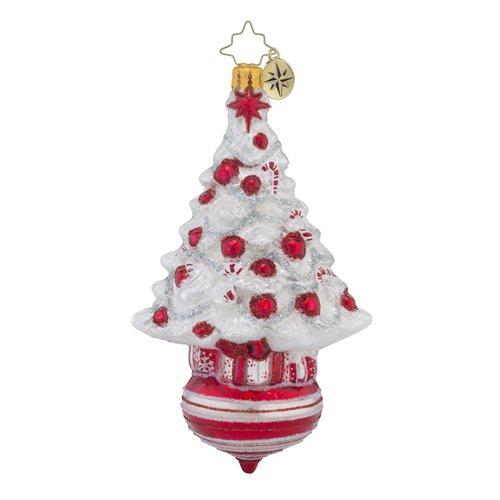 Christopher Radko Peppermint Dazzler Trees Sweet Christmas Ornament