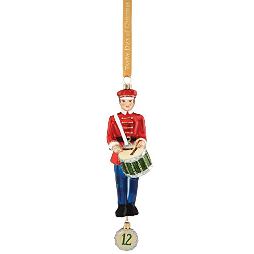 Reed & Barton 12 Days of Christmas 12 Drummers Drumming Ornament
