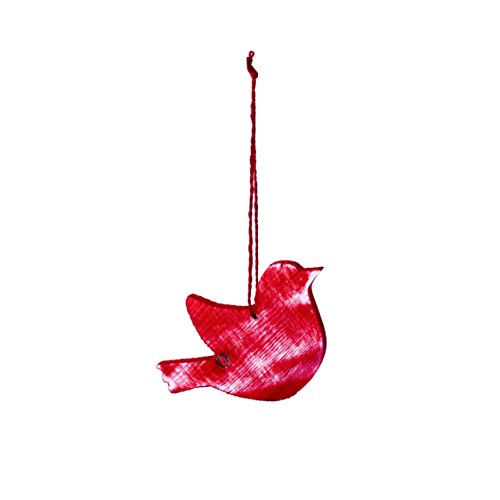 Sage & Co. XAO19739RD Wood Bird Ornament (6 Pack)