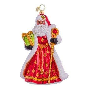 Christopher Radko Christmas Ornament – All Is Bright Santa