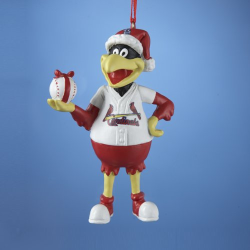 Kurt Adler St. Louis Cardinals Fred Bird Mascot Ornament