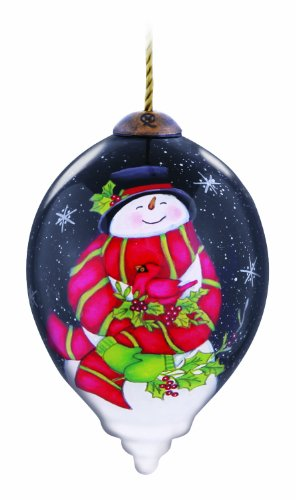 Ne'Qwa Frosty Snuggles Ornament