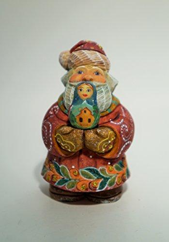 """G. Debrekht """"Santa Matreshka"""" Sculpture, # 517635"""