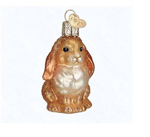 Old World Christmas Brown Baby Bunny (Brown)