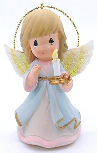 Precious Moments 6101035 – Let your Light Shine Angel With candle Ornament (1299221)