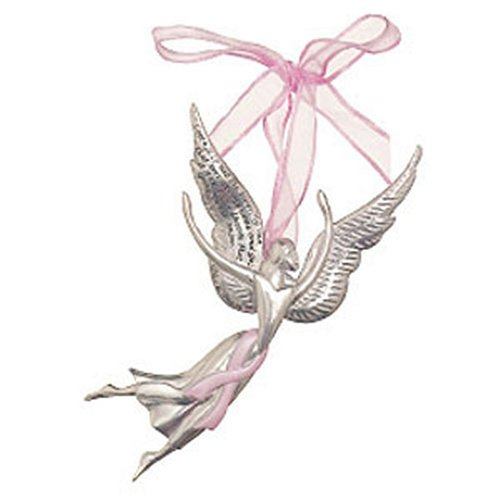 Seasons of Cannon Falls Serenity Courage Breast Cancer Angel Ornament