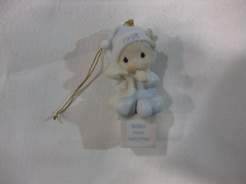 Baby's 1st Christmas 1998 Annual Edition Ornament Precious moments #455652