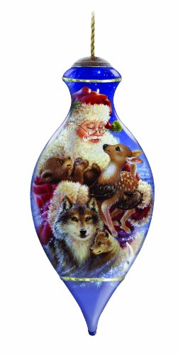 Ne'Qwa Santa's Woodland Friends Ornament
