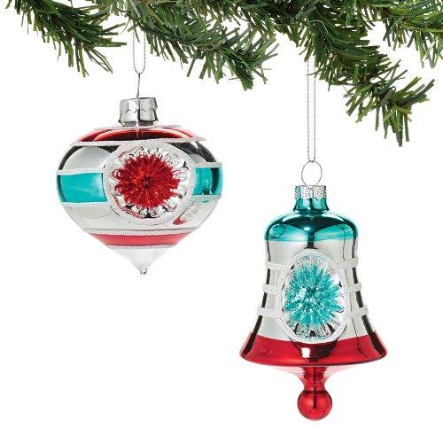 Department 56 1956 Christmas – Retro Reflector Silver Finial Ornament