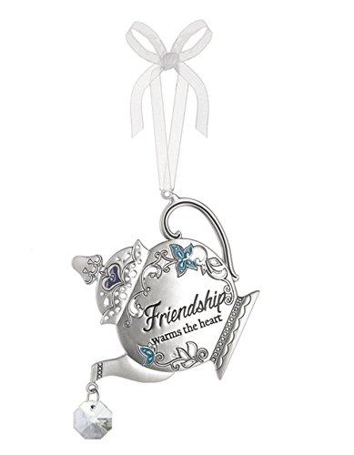Ganz Home Decor Christmas / Spring Mother Daughter Friend Teapot Ornaments (Friendship ER40118)