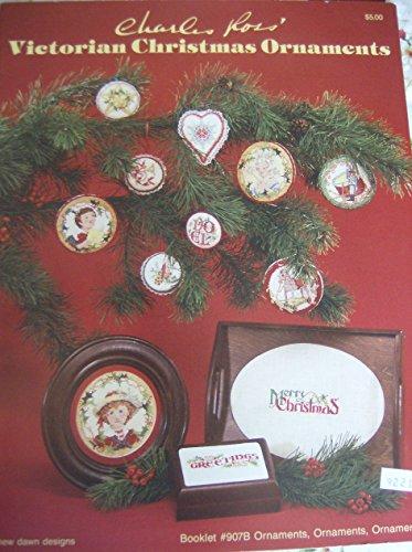 Victorian Christmas ornaments