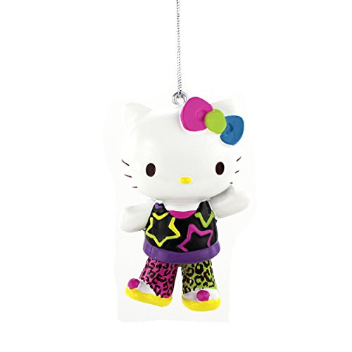 Hello Kitty Kurt Adler Resin Ornament Gift Boxed (Retro Kitty)
