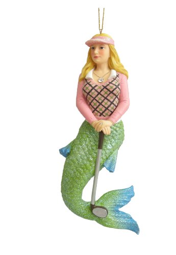 December Diamonds Putter Mermaid Ornament