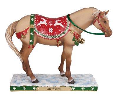 Enesco Trail of Painted Ponies Mr. Winter Figurine, 6-Inch