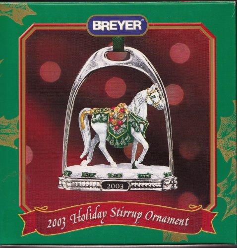 Breyer 2003 Holiday Stirrup Ornament: Silent Knight