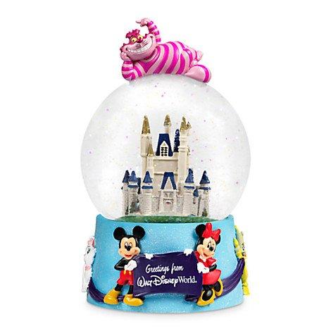 Walt Disney World Character Castle Musical Snowglobe NEW